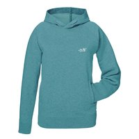 TUTO Hoodie Signature Heather Eucalyptus