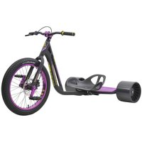 Driftwerk Drift-Trike TRIAD Syndicate 3 Black Purple Tuto...